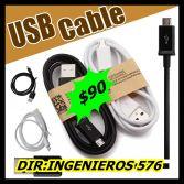 CABLE USB PARA CELULARES $90 SUPER OFERTA!!!!